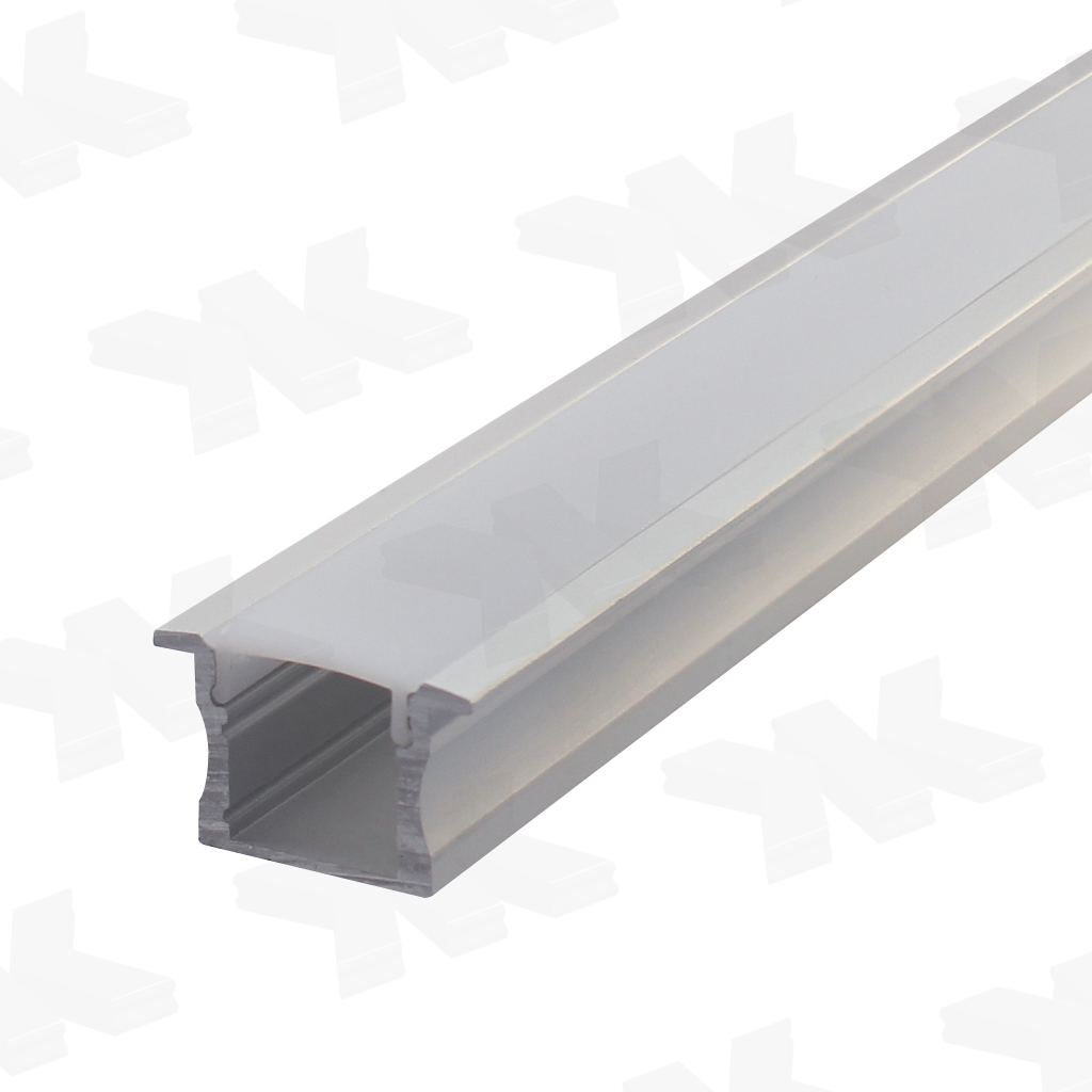 LED-Profil 04, E6/EV1, Diffusor matt, L = 3000 mm