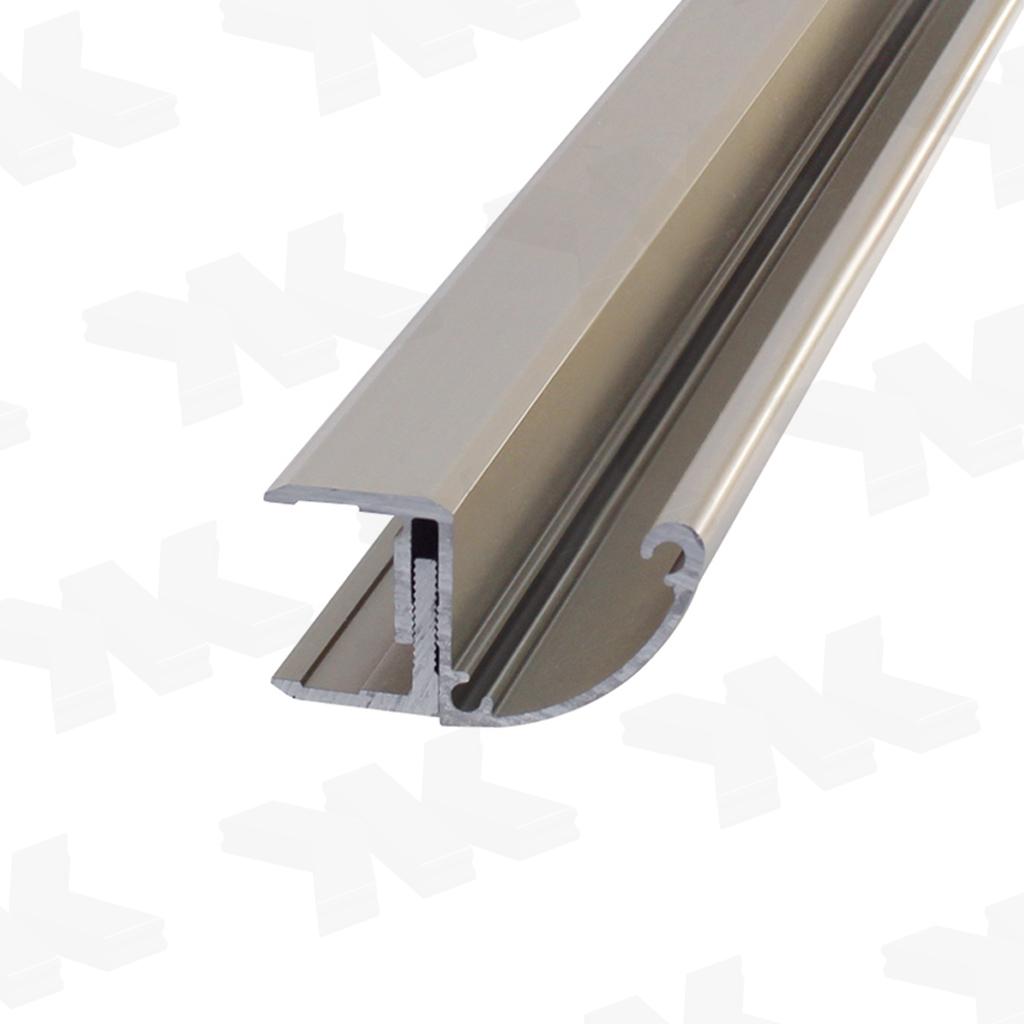 Beliebt Regenrinne für Glasvordächer, L=6000mm - KRAUS GLASBESCHLÄGE BV48
