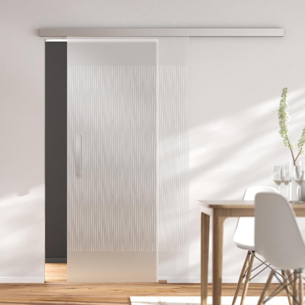 Modern Line 80 Deckenmontage Ef Kraus Glasbeschlage
